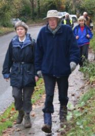 Kate Ashbrook, a member of the governing council of the Ramblers Association and Sir John Johnson is the recently retired Chairman of the Chilterns Conservation Board